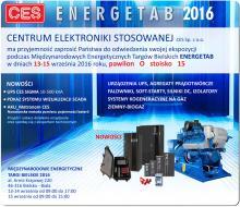 CES na Energetabie 2016 zaproszenie